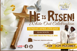Copy of CHURCH HAPPY EASTER ONLINE TEMPL