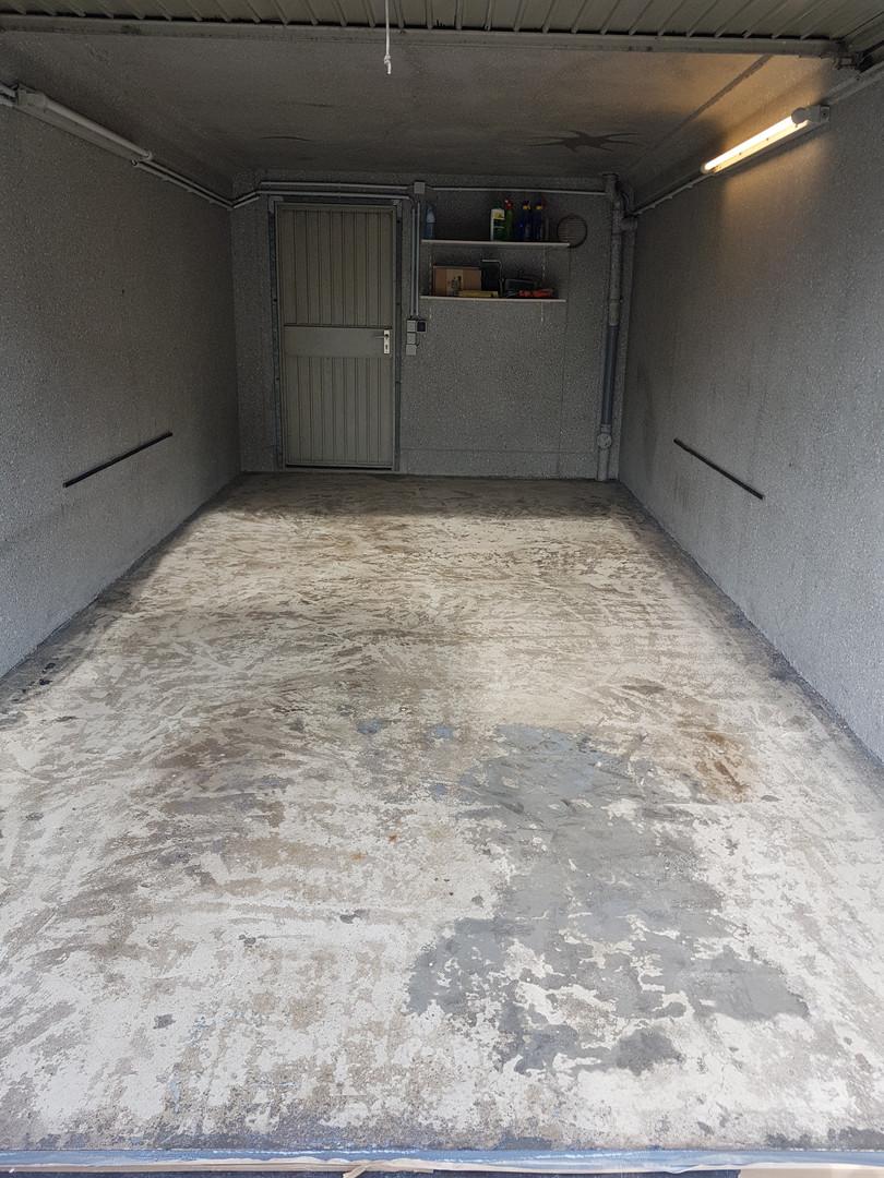 Garagenbeschichtung vorher
