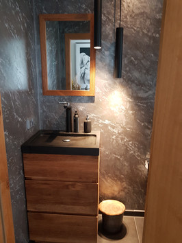 Badezimmer - Mamoreffekt
