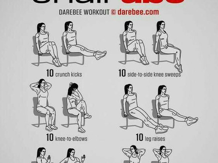 Chair Ab Workout
