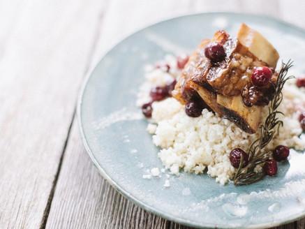 Cranberry-Braised Short Ribs