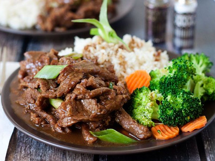 Easy Mongolian Beef (Pressure Cooker or Instapot)