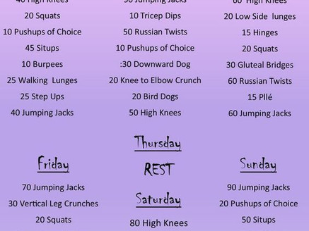 Holiday Survival Workout #1