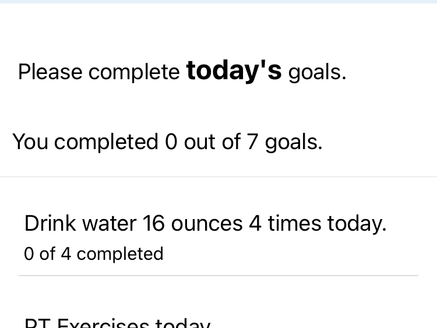 How to Record Water Intake