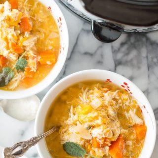 Slow Cooker Chicken Butternut Squash Stew