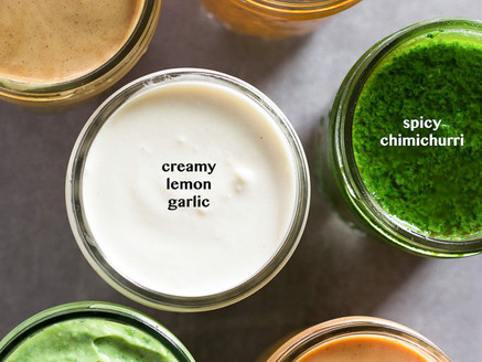6 Healthy Sauces
