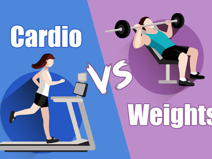 Cardio or Weights: Which is Better?