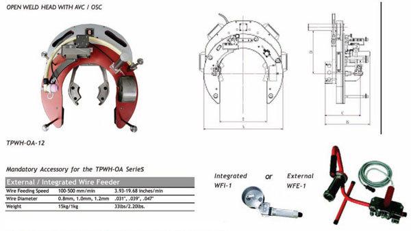 오비탈 용접(HEAD) - TPWH-OA 시리즈
