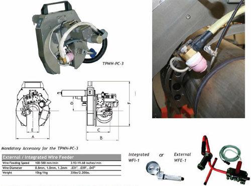오비탈 용접(HEAD) - TPWH-PC-3