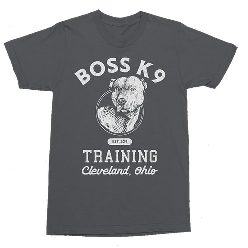 Boss K9 Gray Training Tee