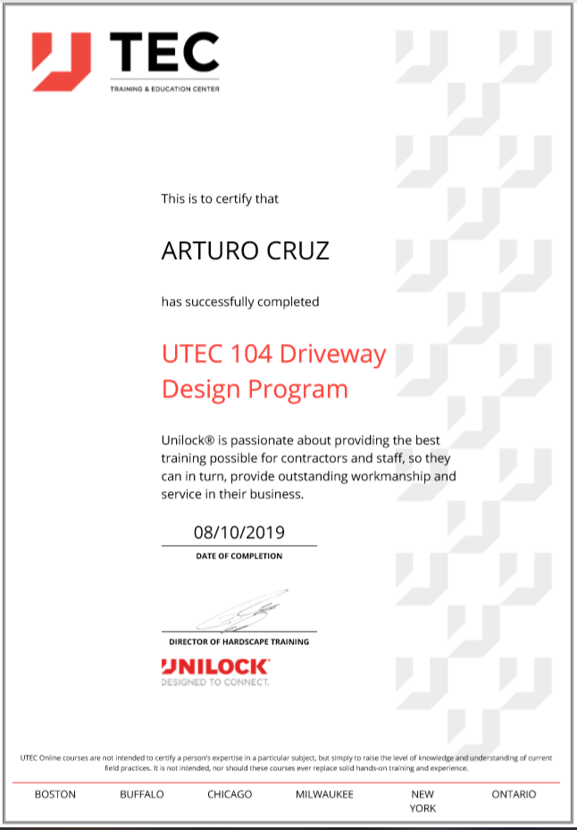 Art Unilock Driveway Design Program