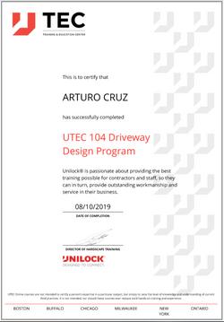 Art Unilock Driveway Design Program