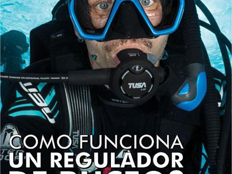 ¿Como funciona un regulador de buceo?