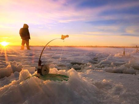 Pesca bajo el hielo | Oulu Finlandia