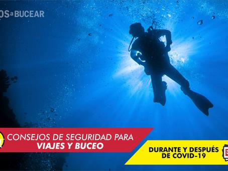 Consejos de seguridad para viajes de buceo, durante y después de COVID-19