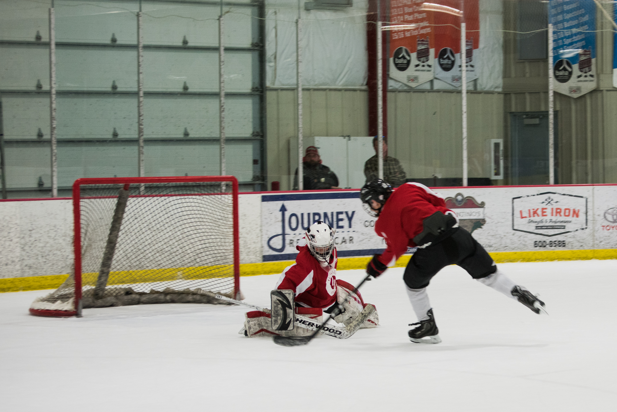 Elevated Hockey  Goaltender Clinic