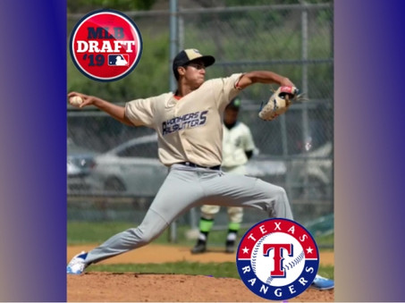 Railsplitters' Rodriguez drafted by Rangers
