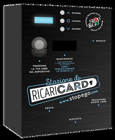 Cassa Ricarica Stop&Go