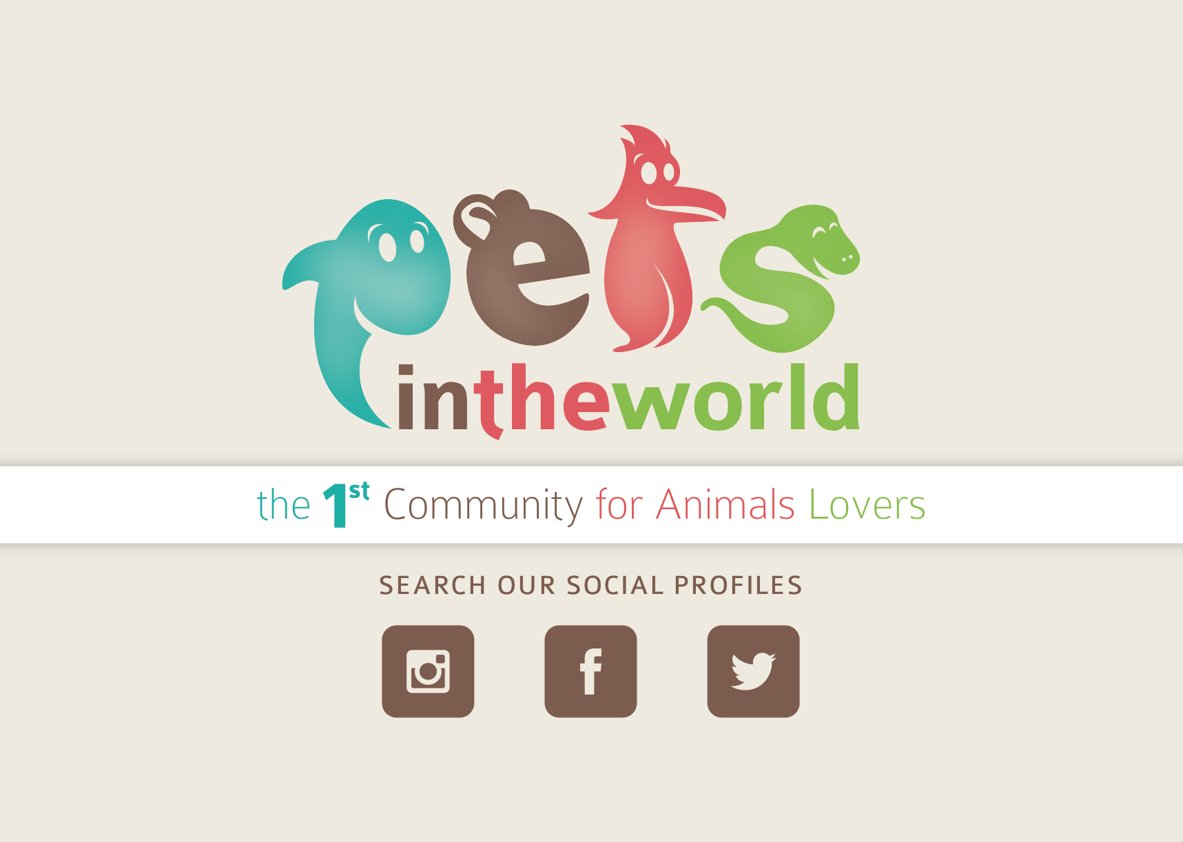 BRAND DESIGN PetsInTheWorld