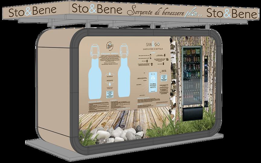 CHIOSCo CASA DEll'acqua Sto&Bene Stop&Go