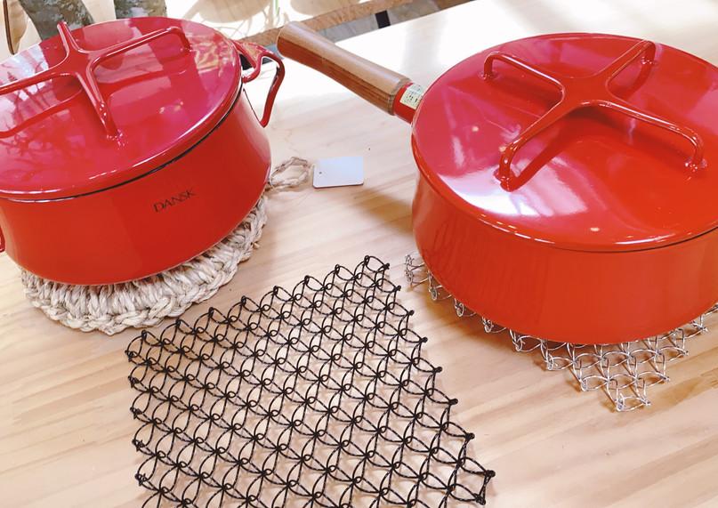 ワイヤー鍋敷