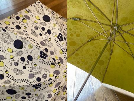 晴れ・雨兼用の北欧デザインの傘