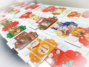 クリスマスBoxのサンプルが届きました!
