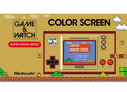 Game and watch super marios bros