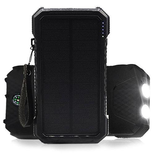 DualPow Solar Power Bank 30000 mAh