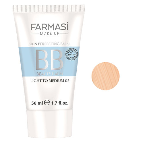 Farmasi BB Cream 02 Light to  Medium