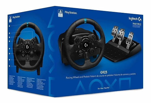 Logitech G923 Racing wheels and pedals