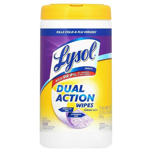 Lysol Wipes Citrus scent