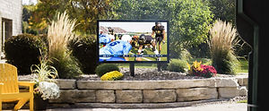 Séura lets you bring your television anywhere by offering outdoor, waterproof, and mirror-hidden TVs.