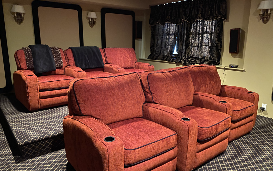 Comfy Theater Seating