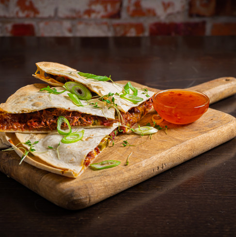 Food fotografie - wraps
