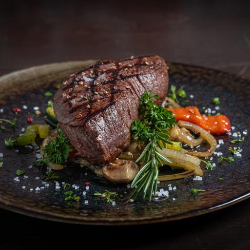 Food fotografie - biefstuk