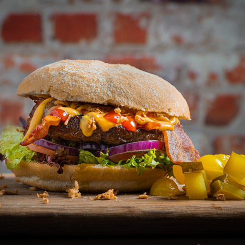 Food fotografie - burger