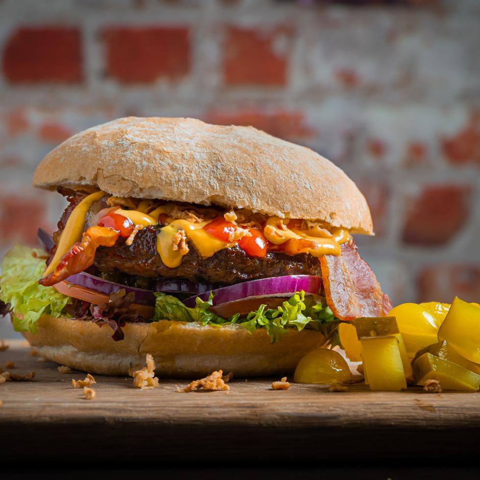 Food fotografie - burger