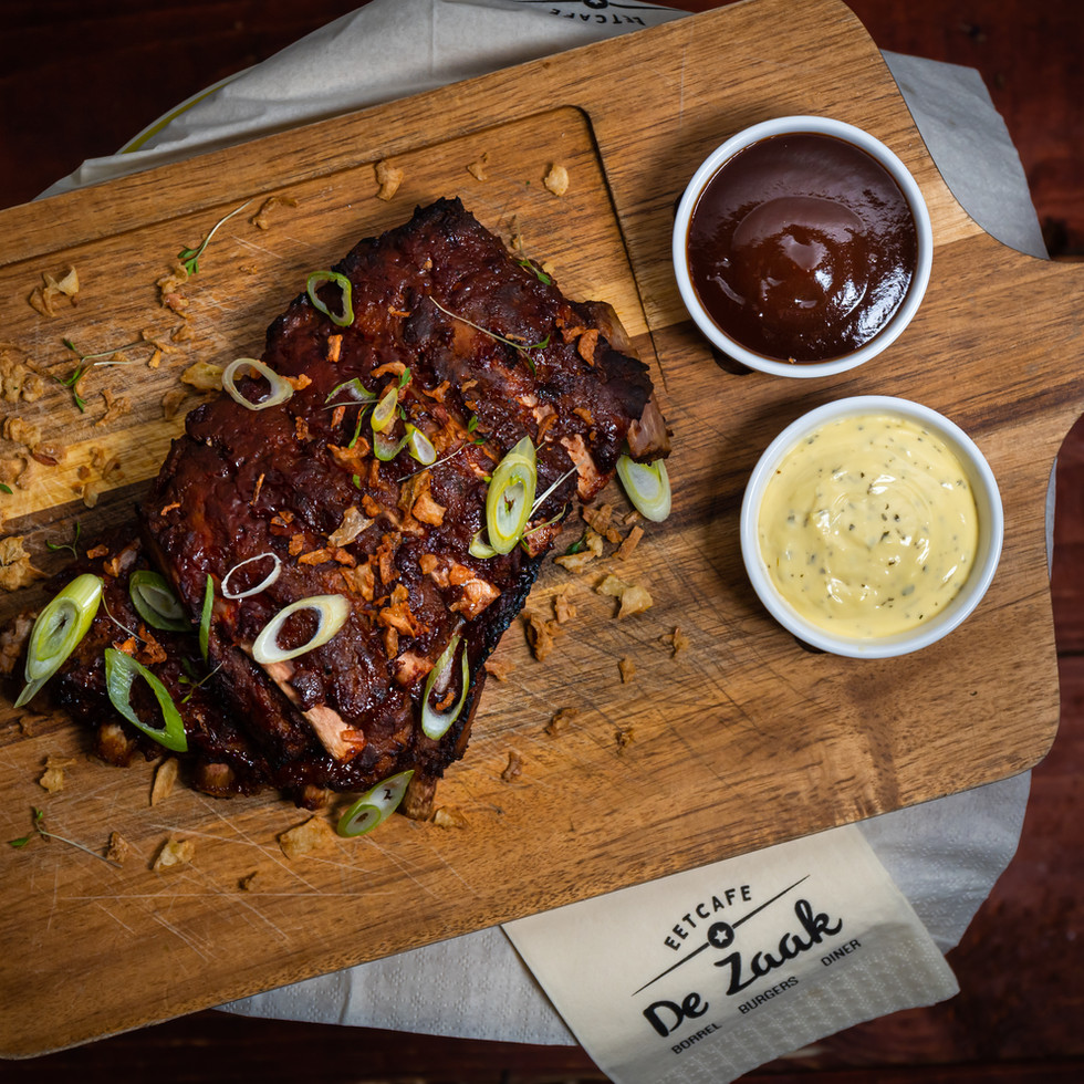Food fotografie - spareribs