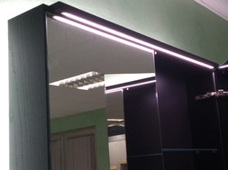 Specchiere con illuminazione a led