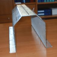 L'azienda si occupa anche della piegatura delle reti metalliche.