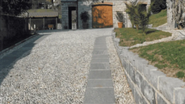 Pavimentazioni in acciottolato Como