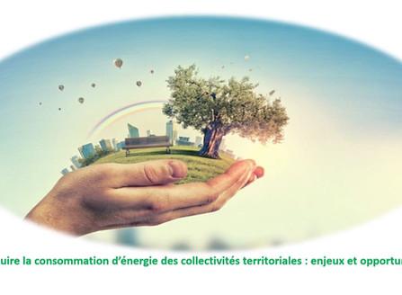 Réduire la consommation d'énergie des collectivités territoriales : enjeux et opportunités
