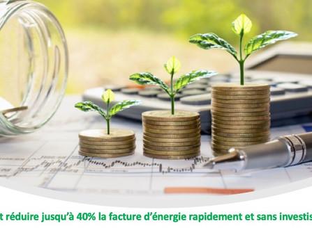 Comment réduire jusqu'à 40% la facture d'énergie rapidement et sans investissement ?