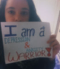 I am a depression and anxiety warrior.