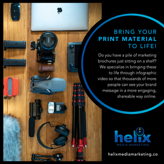 Bring Your Print Material to Life