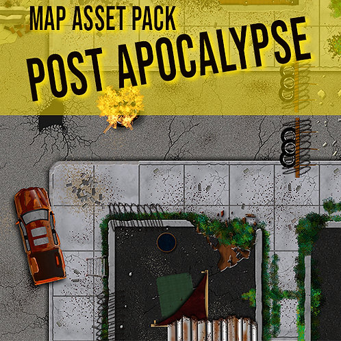 Map Asset Pack: Post Apocalypse