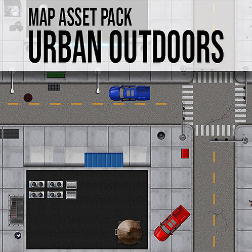 Map Asset Pack: Modern Urban Outdoors