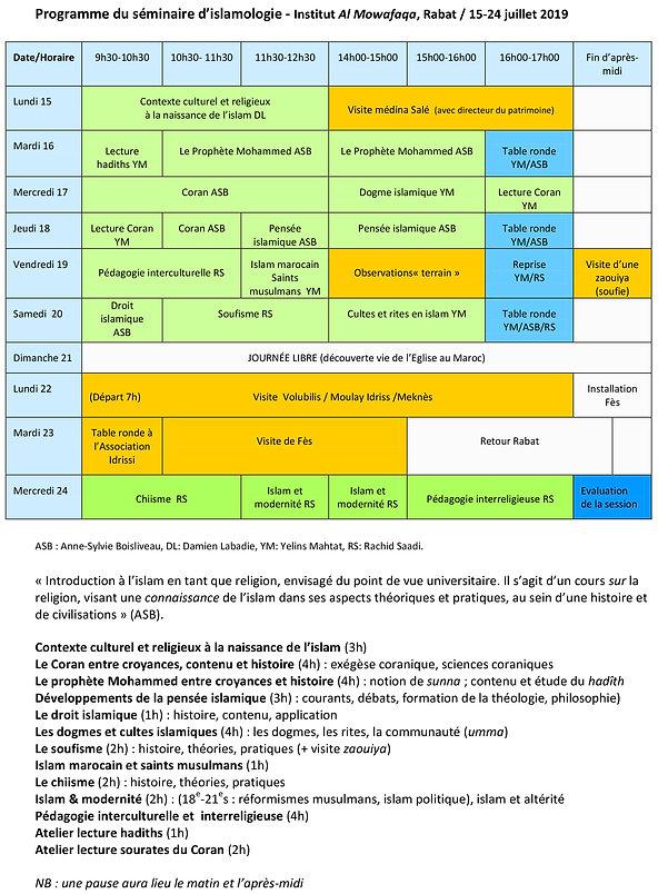 Programme_séminaire_islamologie_Al_Mowaf