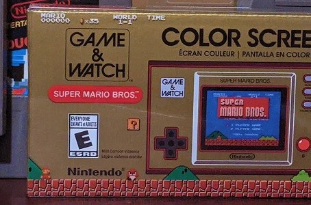 Game & Watch - Super Mario Bros. Review